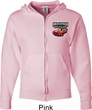 Dodge American Made Muscle Pocket Print Mens Full Zip Hoodie