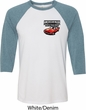 Dodge American Made Muscle Pocket Print Mens Raglan Shirt