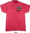 Dodge American Made Muscle Pocket Print Mineral Tie Dye Shirt