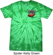 Dodge American Made Muscle Pocket Print Spider Tie Dye Shirt