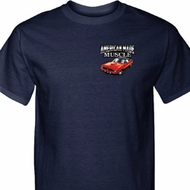Dodge American Made Muscle Pocket Print Tall Shirt
