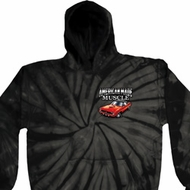 Dodge American Made Muscle Pocket Print Tie Dye Hoody