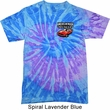 Dodge American Made Muscle Pocket Print Tie Dye Shirt