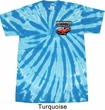 Dodge American Made Muscle Pocket Print Twist Tie Dye Shirt