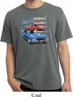 Dodge American Muscle Blue and Red Pigment Dyed Shirt