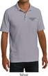 Dodge Challenger 1974 Pocket Print Mens Pique Polo Shirt