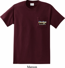 Dodge Dart Pocket Print Pocket Shirt