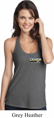 Dodge Dart Pocket Print T-Back Tank Top
