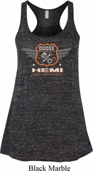 Dodge Garage Hemi Ladies Flowy Racerback Tanktop