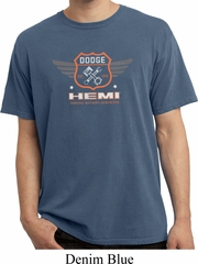 Dodge Garage Hemi Pigment Dyed Shirt