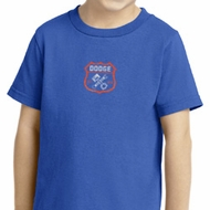Dodge Garage Small Print Toddler Shirt