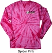 Dodge Hemi Pocket Print Long Sleeve Tie Dye Shirt