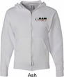 Dodge Hemi Pocket Print Mens Full Zip Hoodie
