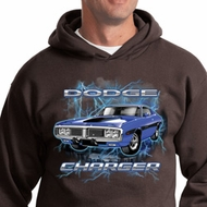 Dodge Hoodie Blue Dodge Charger Hoody