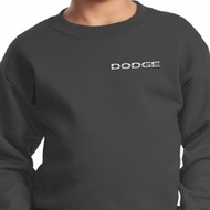 Dodge Logo Pocket Print Kids Sweat Shirt