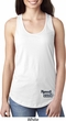 Dodge Plymouth Cuda Bottom Print Ladies Ideal Tank Top