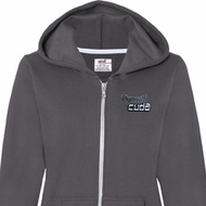 Dodge Plymouth Cuda Pocket Print Ladies Full Zip Hoodie