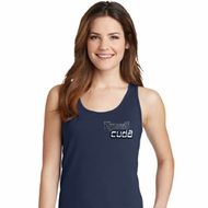 Dodge Plymouth Cuda Pocket Print Ladies Tank Top