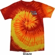 Dodge Plymouth Cuda Pocket Print Tie Dye Shirt
