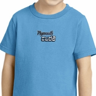Dodge Plymouth Cuda Small Print Kids Shirts