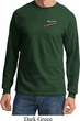 Dodge Plymouth Roadrunner Pocket Print Long Sleeve Shirt