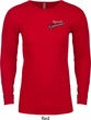 Dodge Plymouth Roadrunner Pocket Print Long Sleeve Thermal Shirt