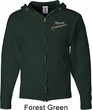 Dodge Plymouth Roadrunner Pocket Print Mens Full Zip Hoodie