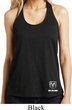 Dodge Ram Logo Bottom Print Shimmer Loop Back Tank Top