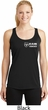 Dodge Ram Trucks Pocket Print Ladies Dry Wicking Racerback Tank Top