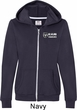 Dodge Ram Trucks Pocket Print Ladies Full Zip Hoodie