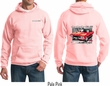 Dodge Red Challenger (Front & Back) Hoodie