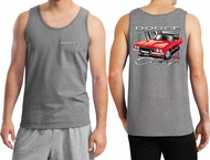 Dodge Red Challenger (Front & Back) Tank Top