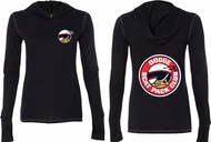 Dodge Scat Pack Logo (Front & Back) Ladies Tri Blend Hoodie