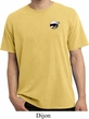 Dodge Scat Pack Logo Pocket Print Pigment Dyed Shirt