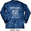 Dodge Shirt Guts and Glory Ram Logo Long Sleeve Tie Dye Tee T-shirt