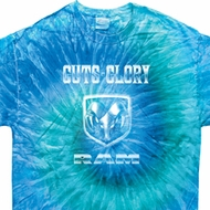 Dodge Shirt Guts and Glory Ram Logo Tie Dye Tee T-shirt