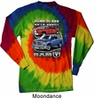 Dodge Shirt Guts and Glory Ram Trucks Long Sleeve Tie Dye Tee T-shirt