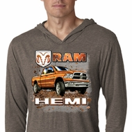 Dodge Shirt Ram Hemi Trucks Lightweight Hoodie Tee T-Shirt