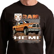 Dodge Shirt Ram Hemi Trucks Long Sleeve Tee T-Shirt