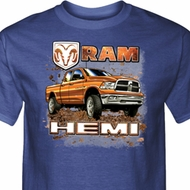 Dodge Shirt Ram Hemi Trucks Tall Tee T-Shirt