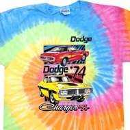 Dodge Shirt Vintage Chargers Eternity Tie Dye Tee T-shirt