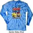 Dodge Shirt Vintage Chargers Long Sleeve Tie Dye Tee T-shirt