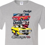 Dodge Shirt Vintage Chargers Tall Tee T-Shirt