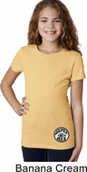 Dodge Super Bee Circle Logo Bottom Print Girls Shirt