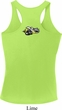 Dodge Super Bee Logo Neck Print Ladies Moisture Dry Racerback Tank Top