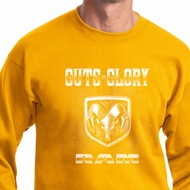 Dodge Sweatshirt Guts and Glory Ram Logo Sweat Shirt