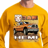 Dodge Sweatshirt Ram Hemi Trucks Sweat Shirt