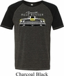 Dodge Yellow Plymouth Roadrunner Mens Tri Blend Shirt