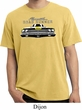 Dodge Yellow Plymouth Roadrunner Pigment Dyed Shirt