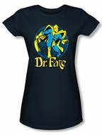 Dr. Fate Juniors T-shirt � ANKH DC Comics Navy Blue Tee